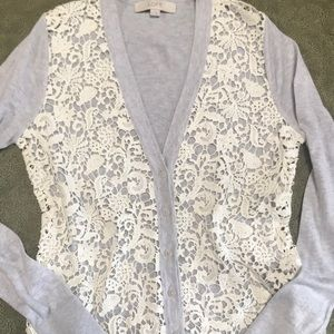 Loft lace sweater